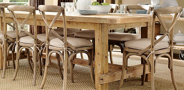 Elegant Madeleine Chair @ Restoration Hardware 4 Colors Available (shown In  Weathered Oak Drifted)