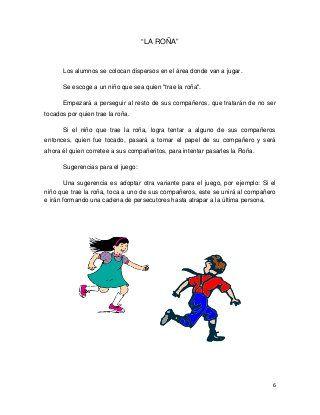 Juegos Infantiles Tradicionales Evaluacion Pinterest Juegos