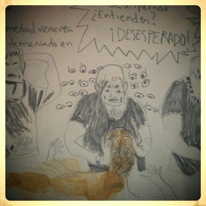 Dibujos de Isabel Vila para el fanzine Le Piragüiste núm 1.