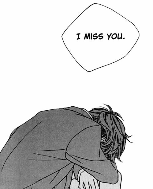 Днем, картинки аниме скучаю по тебе