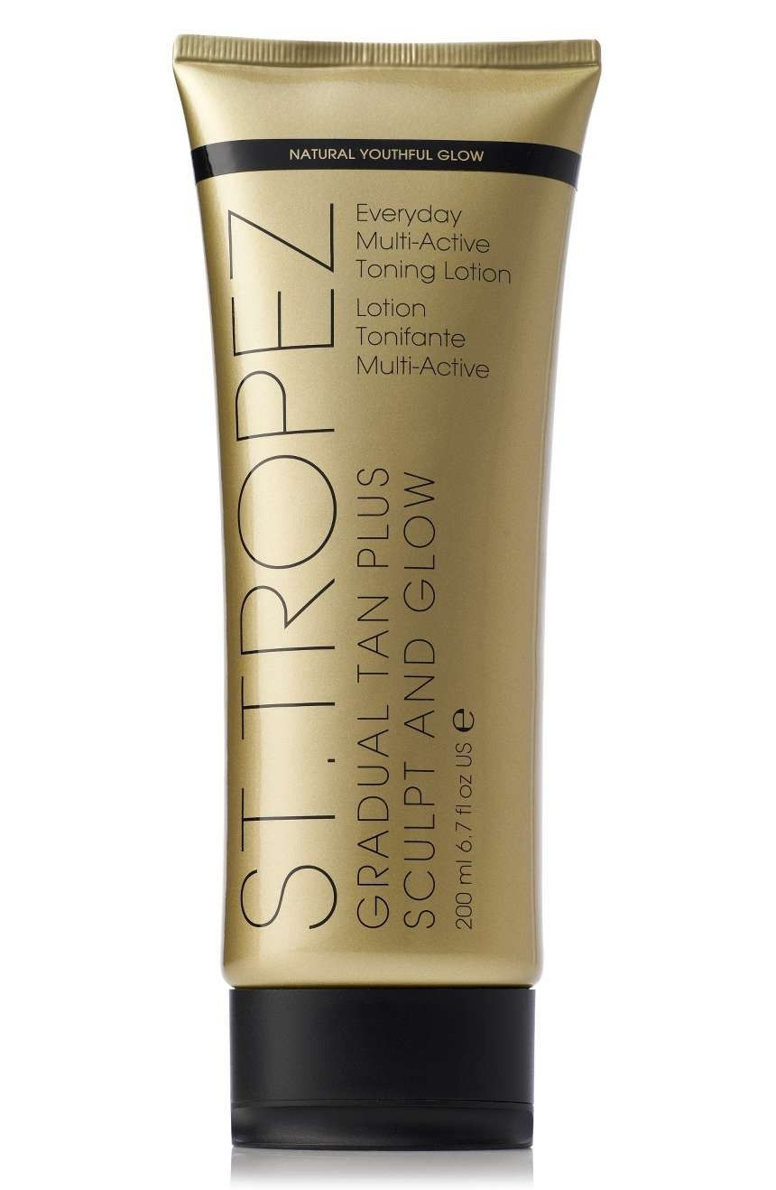 St. Tropez Gradual Tan Plus Sculpt & Glow Body Lotion