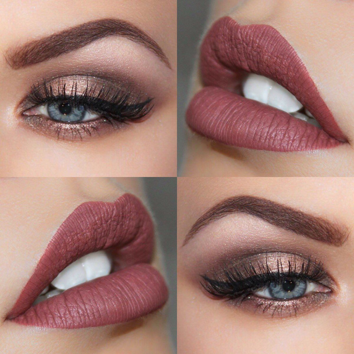 Brooke Simons Mua On Blue Eye Makeup Blue Makeup Perfect Makeup