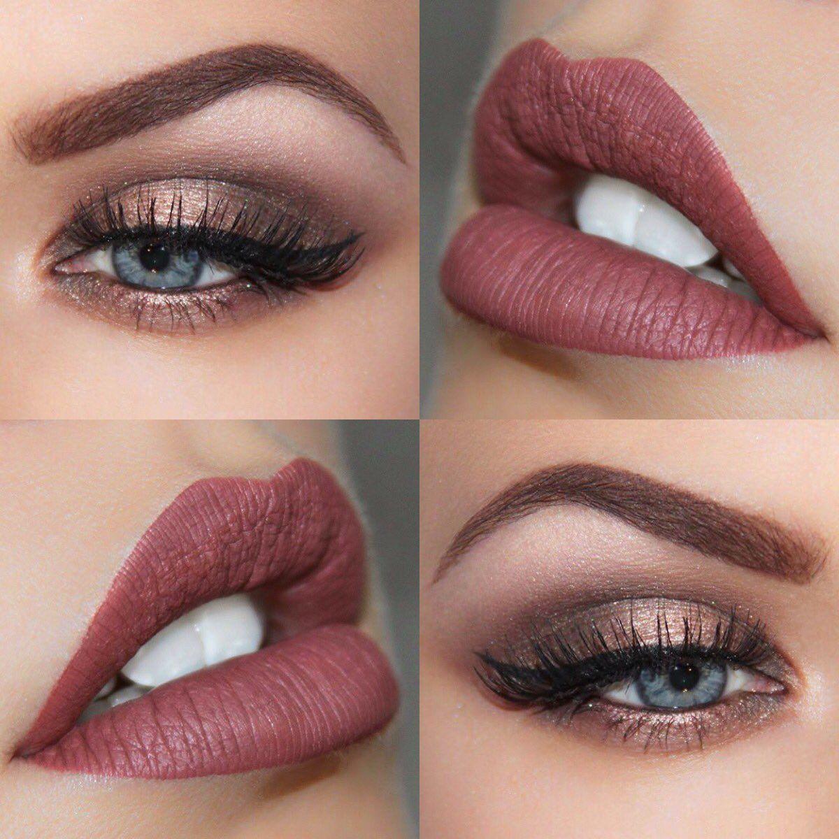 """Autumn awesomeness using @ABHcosmetics Allison liquid lipstick and Modern Renaissance palette @norvina1 #AnastasiaBeverlyHills"""