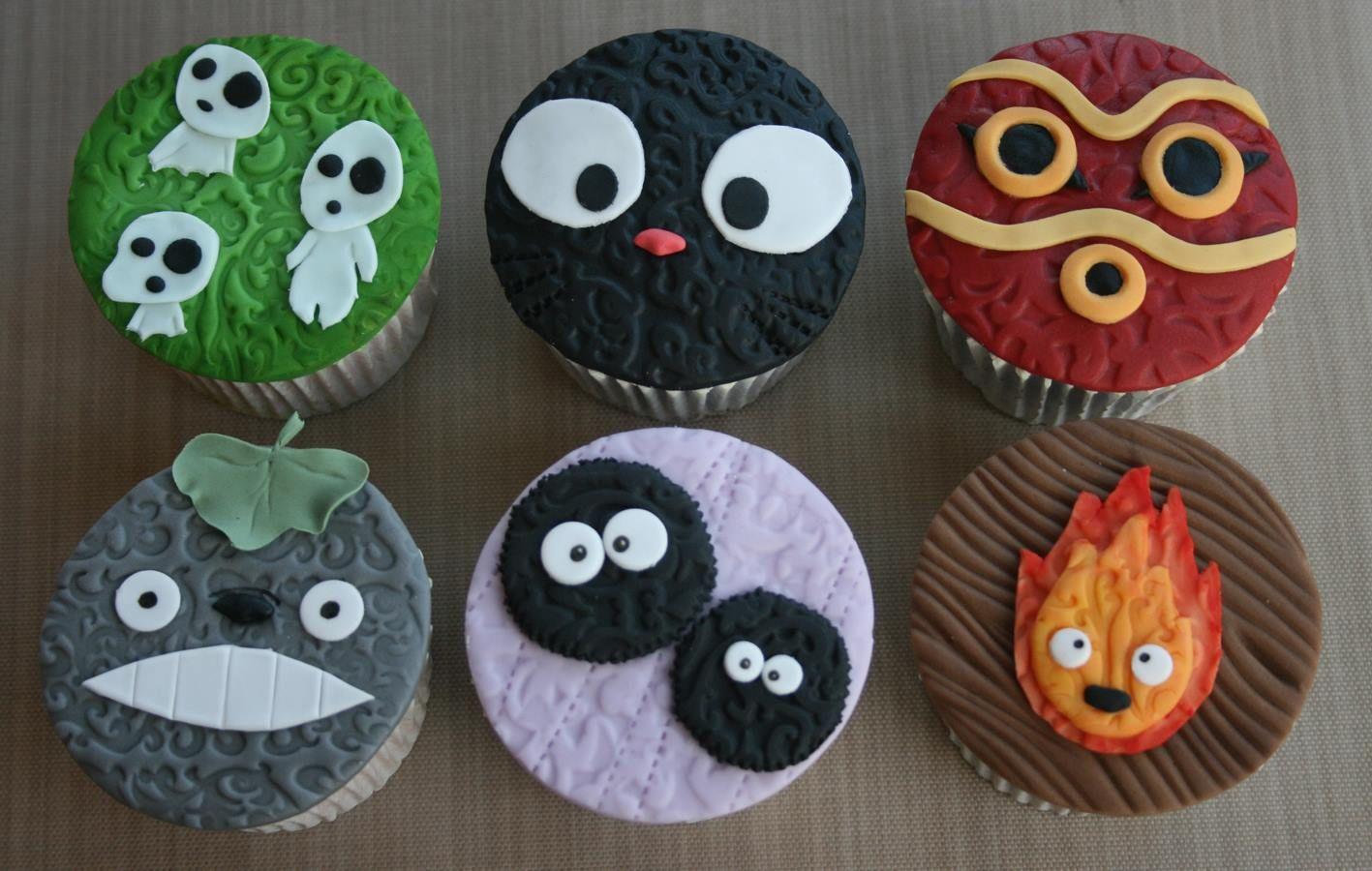 My Neighbor Totoro Cake Decorations