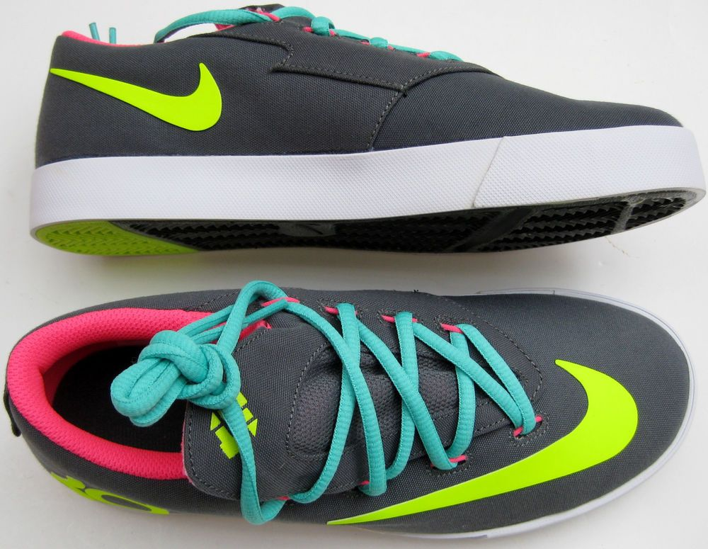 1140948eb46 New Nike KD Vulc Kevin Durant 642085 Big Kids Unisex Shoes Size 6.5Y Wmn Sz  7.5 in Zapatos para niñas