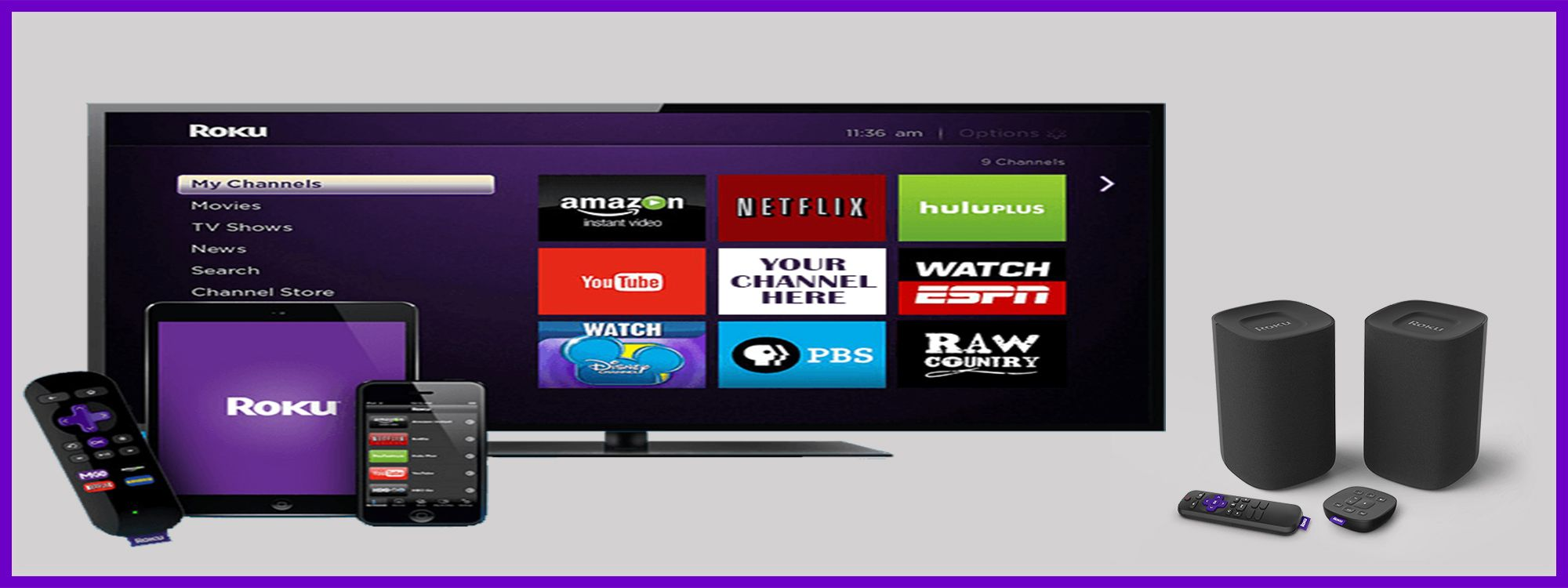 roku stick activation Smart televisions, Roku streaming