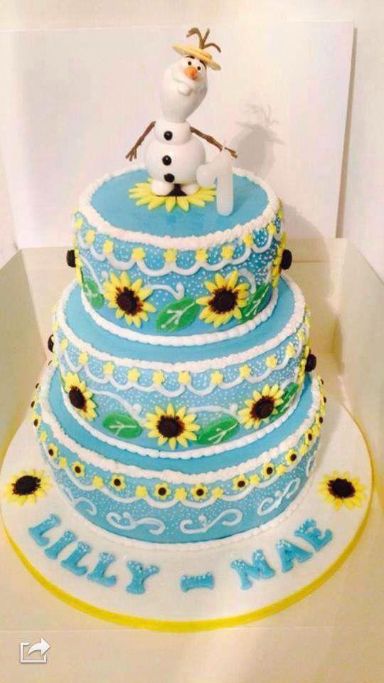 Frozen Fever Anna S Birthday Cake Frozen Party Ideas Frozen