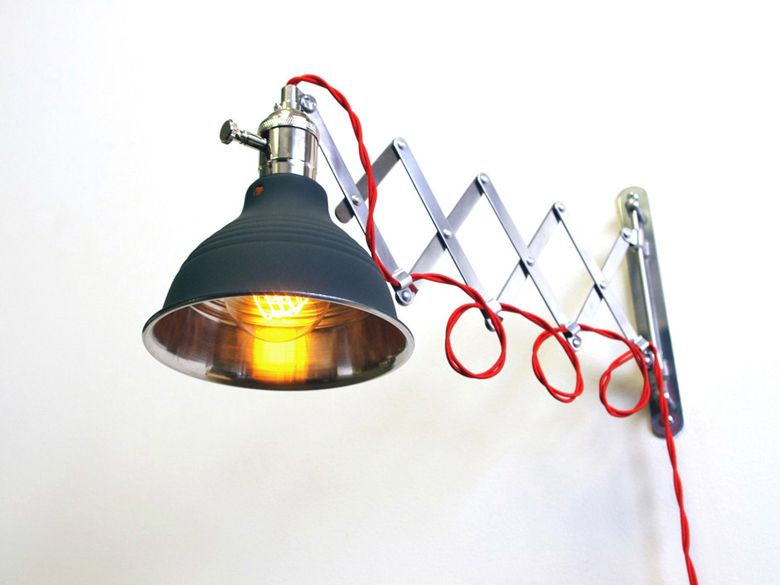 Original Scissor Lamp | Wall lamp, Steampunk lighting, Light