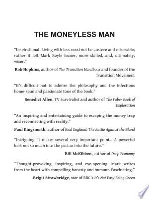 Download The Moneyless Man Free Economics Books False Book Good Books