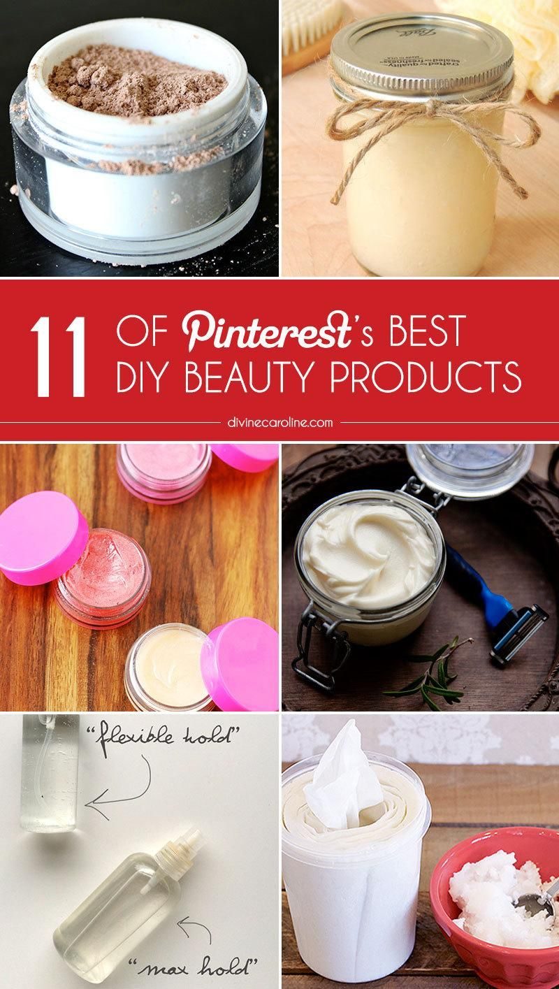 11 of Pinterest's Best DIY Beauty Products Beauty