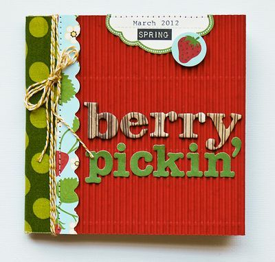 Berry Pickin Album By Pam Brown Using Jillibean Soups Coconut Lime