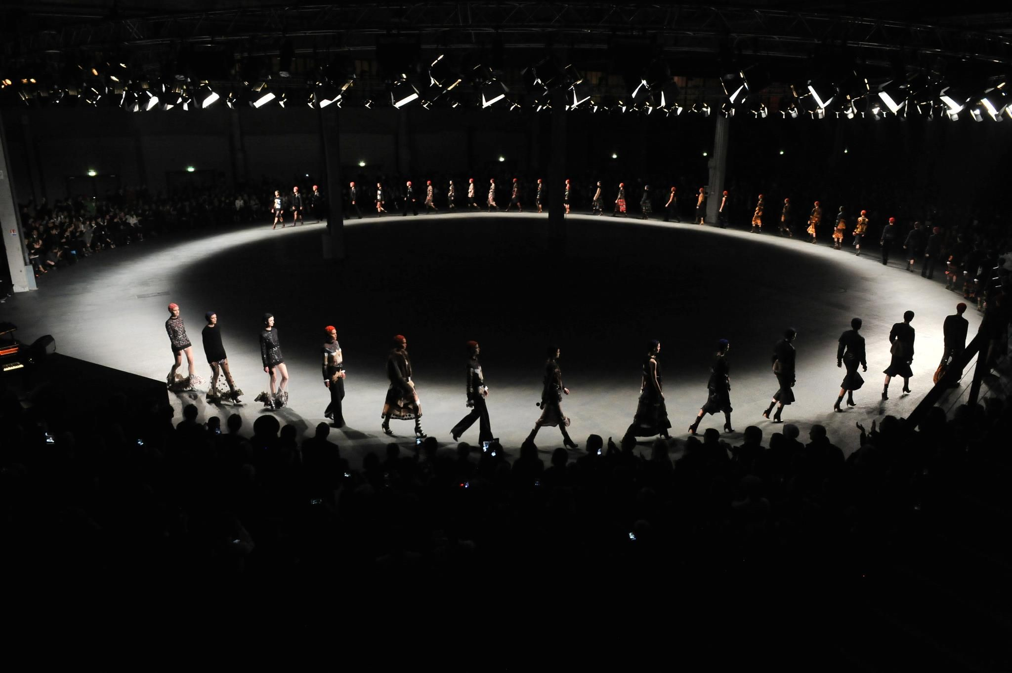 Givenchy f w 2013 fashion show stage design fashion show - Fashion show stage design architecture plans ...