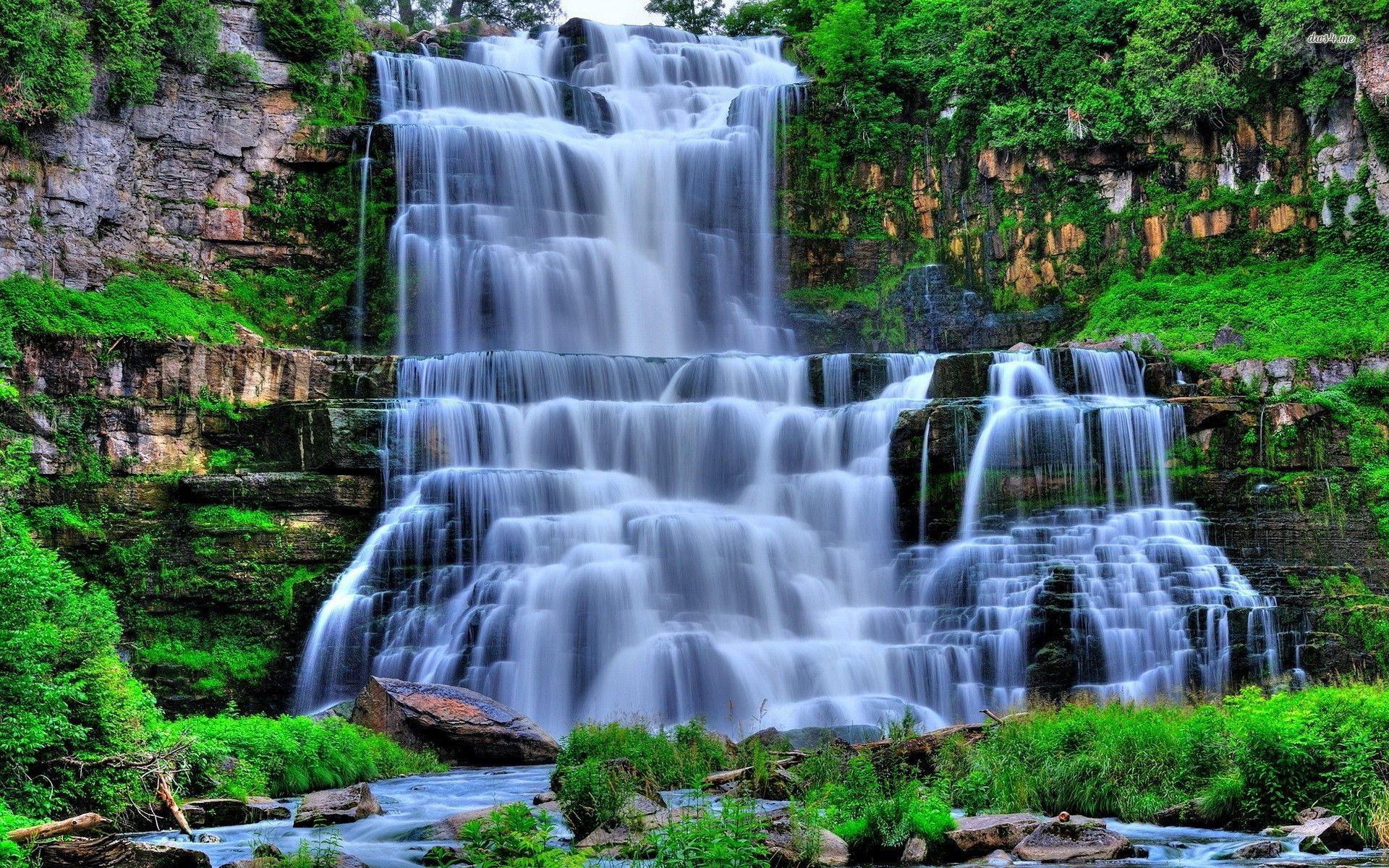 Waterfall Wallpaper HD 12483 1920x1200 px ~ FreeWallSource ...