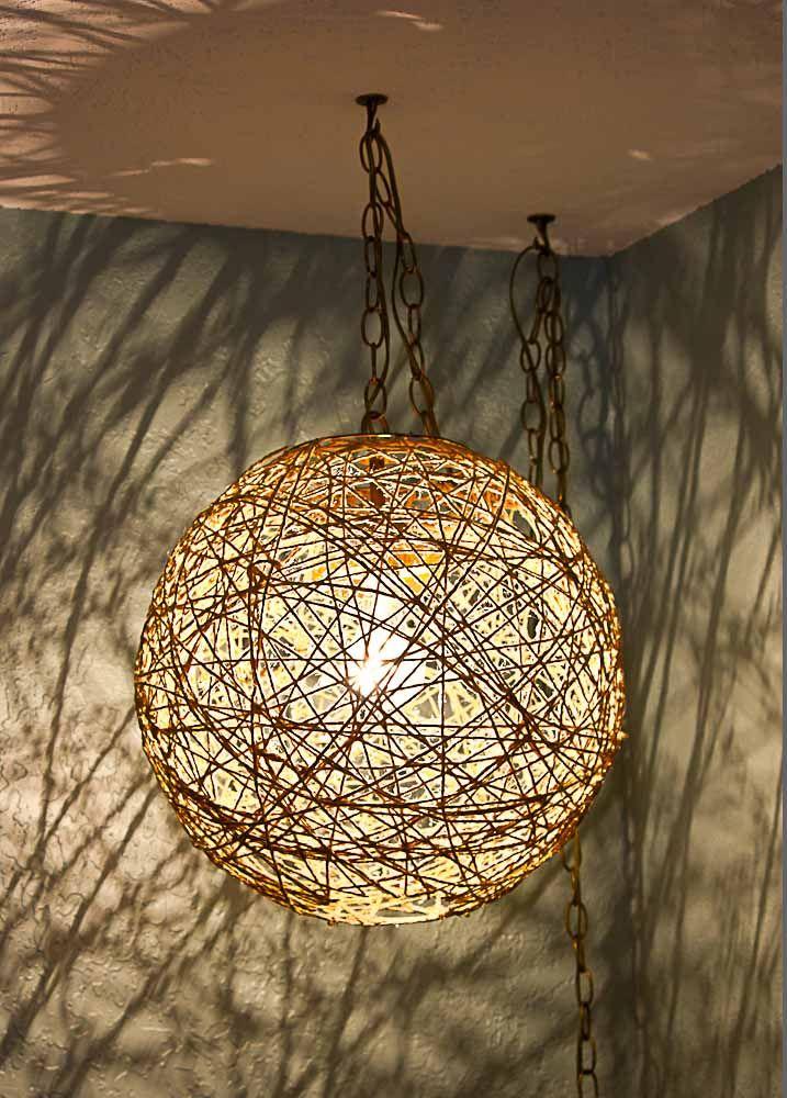 My Diy Swag Lamp With Shade Swag Lamp Diy Swag Diy Lamp Shade