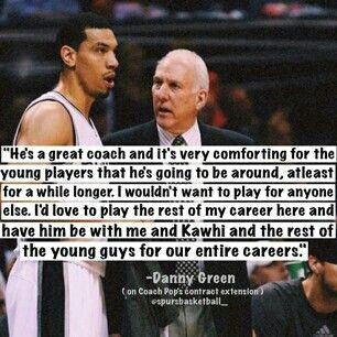 Spurs Danny Green San Antonio Spurs Spurs Best Quotes