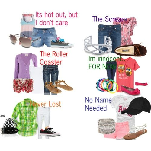 what to wear on a first date to an amusement park