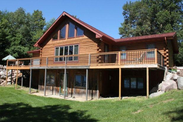 4 Bedroom House Rental In Walker Minnesota Usa Log Cabin Home On Scenic May Lake Walker Mn Mn Vacation Cabin Homes Log Cabin Homes
