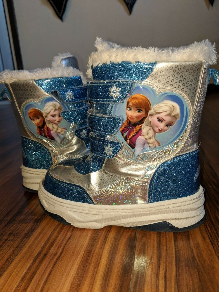 Frozen Snow Boots Size 11 #fashion #clothing #shoes