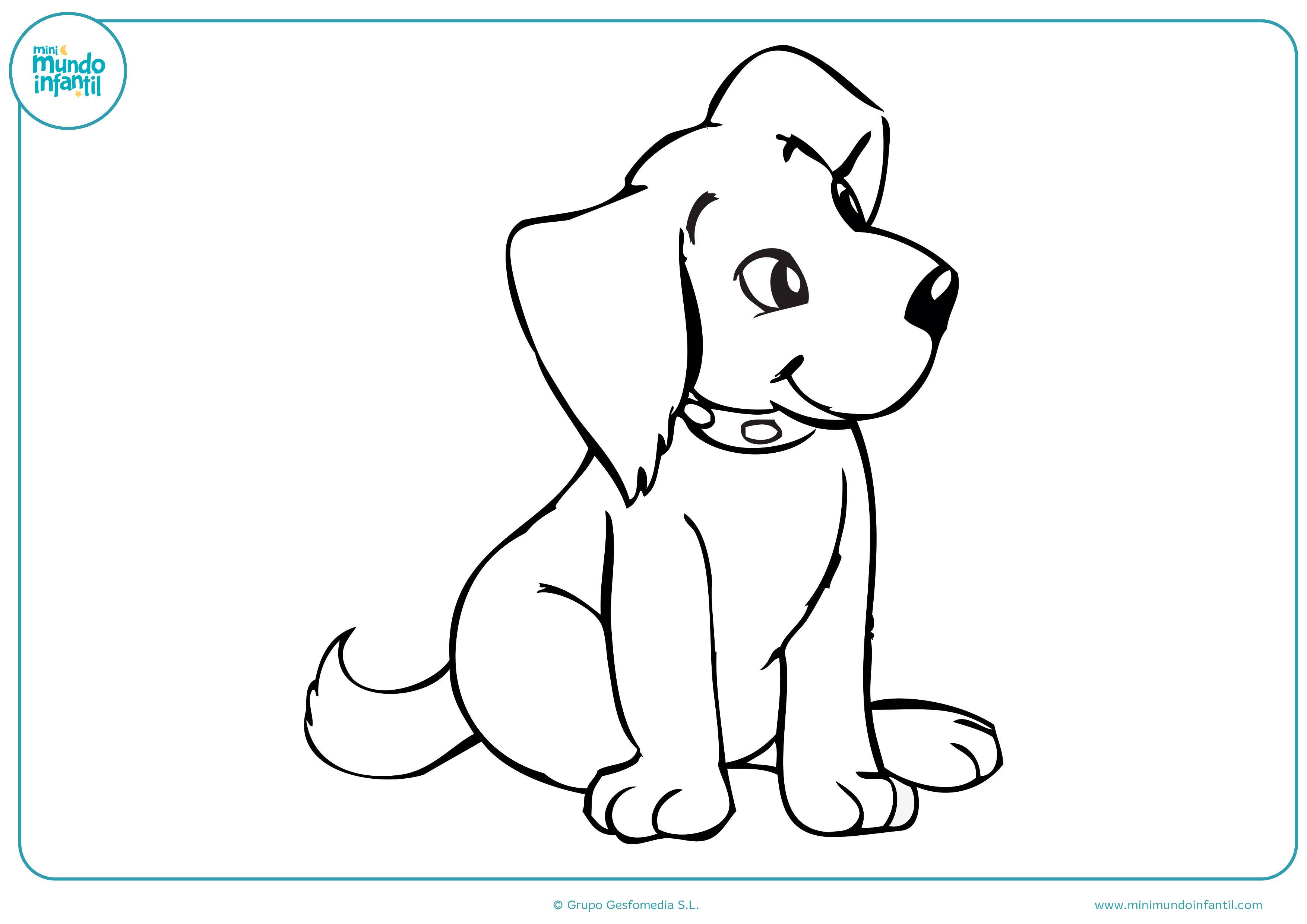 Kawaii Dibujos De Perros Para Pintar Dibujos De Perros Para Colorear A Lapiz Y Faciles Dibujos