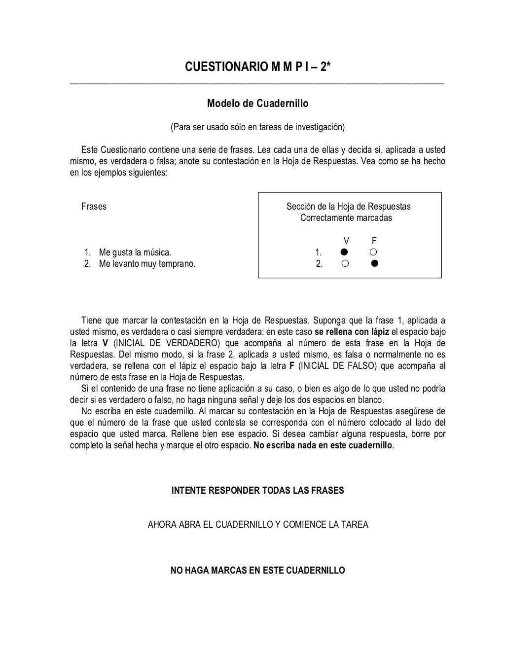 Cuadernillo del test de minesota by Cesar Pila Manosalvas via slideshare
