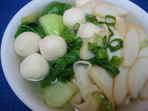 Fish Ball Soup Baso Bola Ikan Fish Ball Soup Recipe Food Recipes