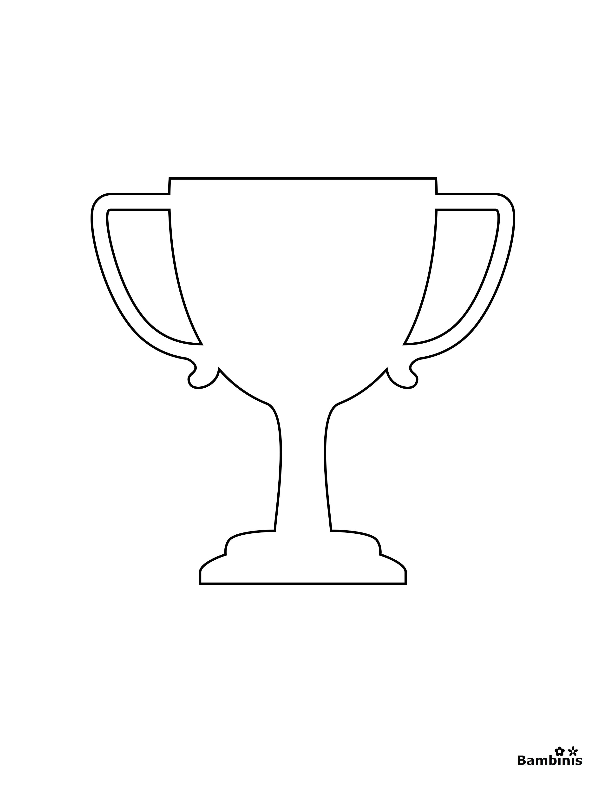 Trophy Coloring Page Habit 4 Think Win Win Coloring Pages