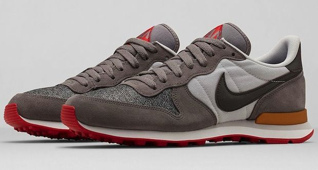 competitive price a962a 99429 ... low cost nike internationalist city pack milan grey suede uppers with  gold red accents and an