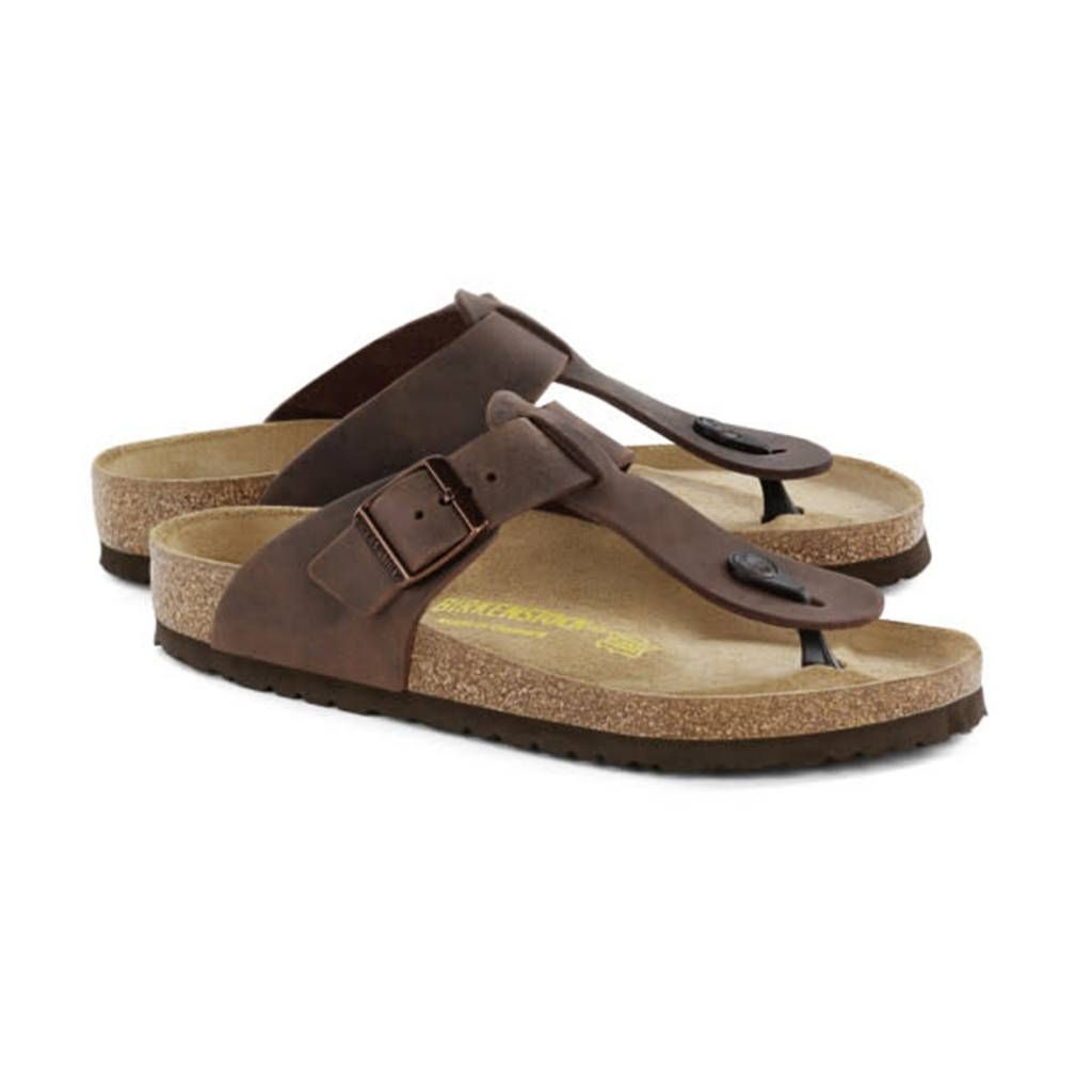 9fd26b35650 Birkenstock - Medina - Natural Leather in Habana (Classic Footbed - Suede  Lined)