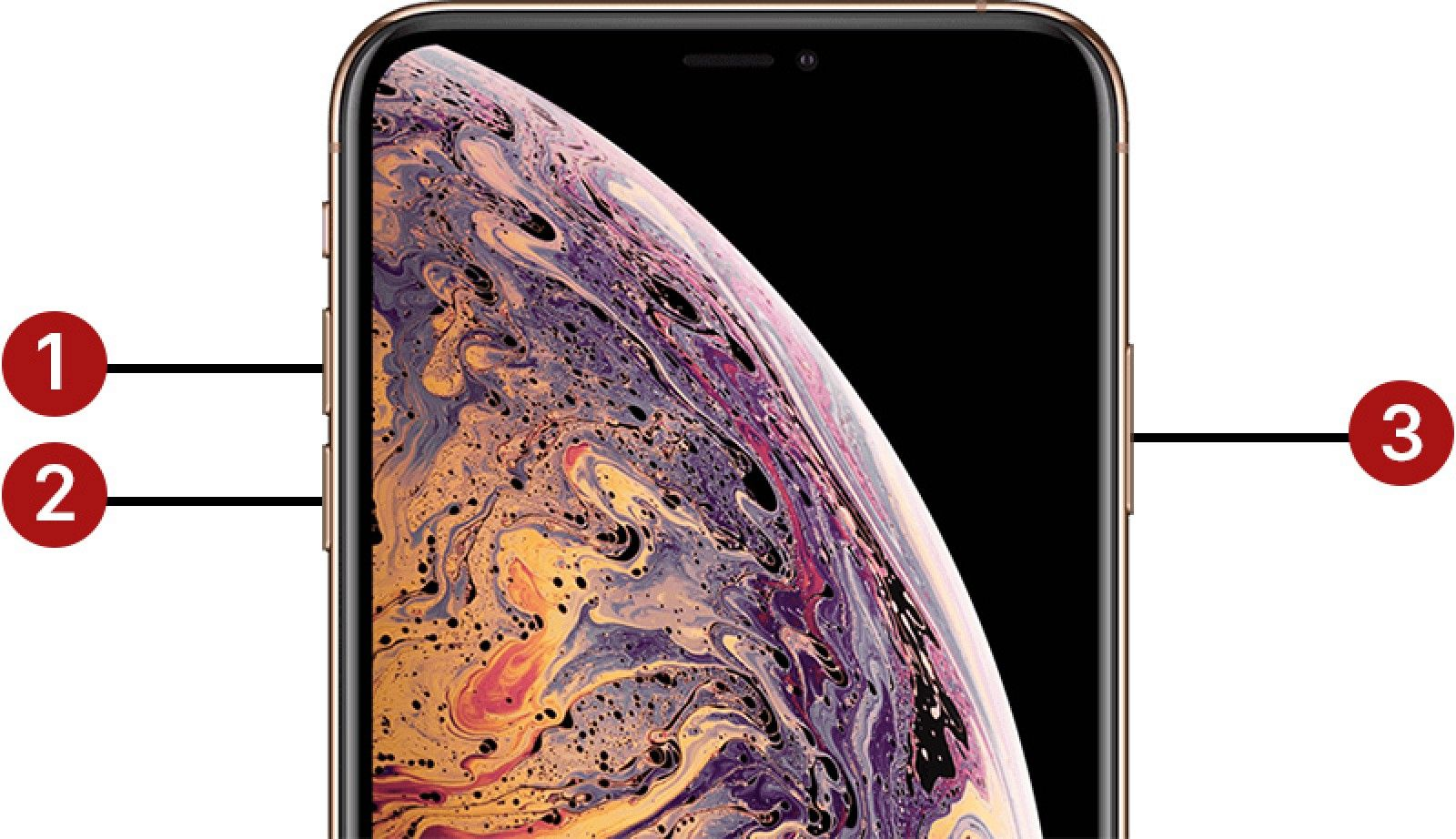 How to Force Restart iPhone X, iPhone XS, iPhone XS Max
