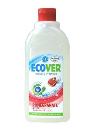Ecover Natural Dishwashing Liquid In Pomegranate Lime Scent