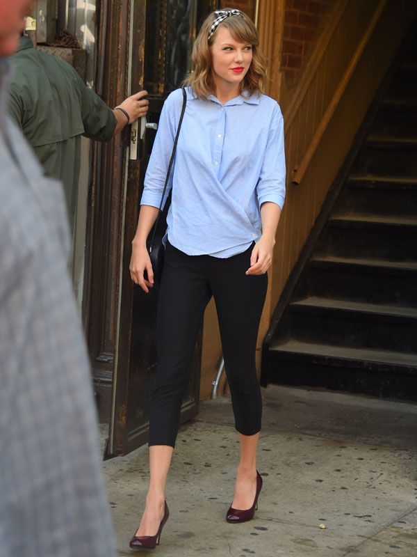 Taylor Swift Shows Us How To Still Look Chic Post Workout Taylor Swift And Swift