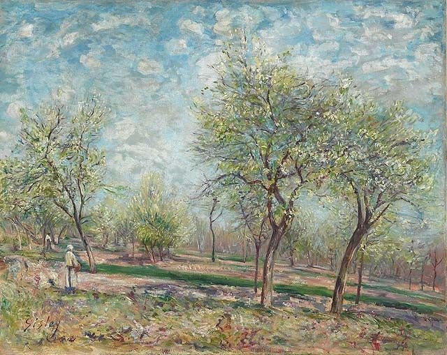 Genuine Fine Art Reproduction | Art Reproductions | Art Replicas | Art - Alfred Sisley Paintings