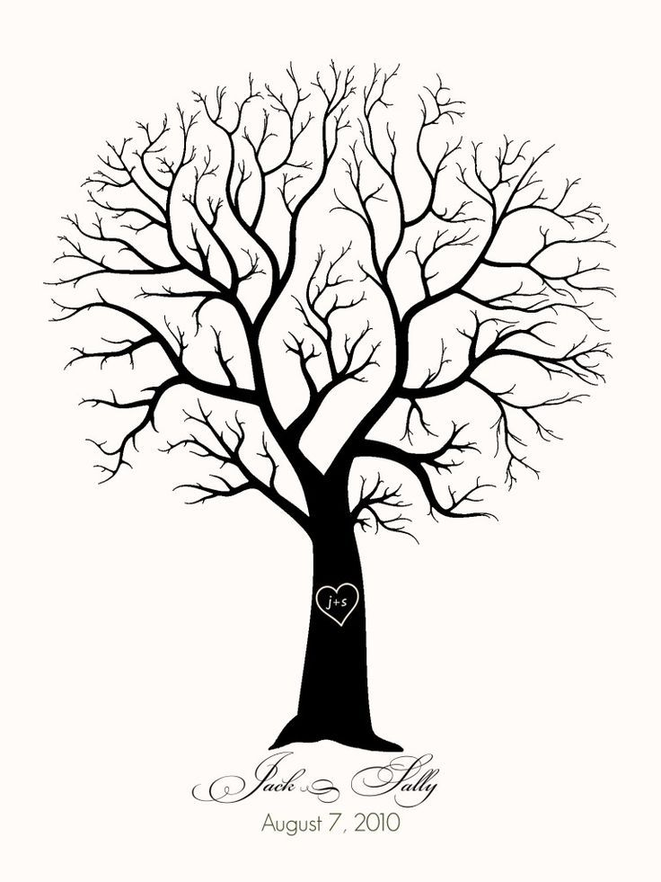 image about Printable Tree Stencil known as Printable Tree Template Tree with No Leaves Clip Artwork