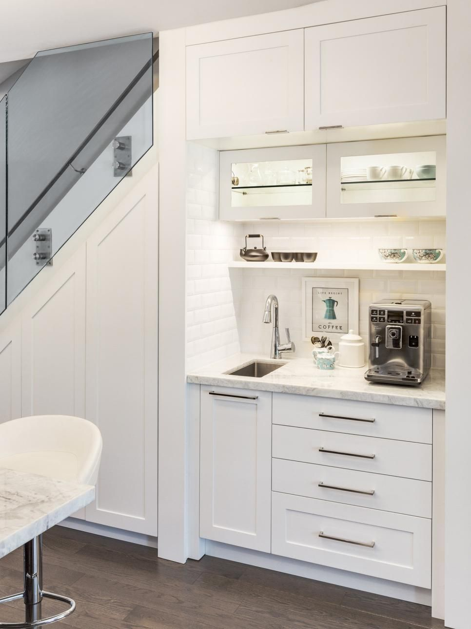 budget kitchen updates that make a big impact coffee nook