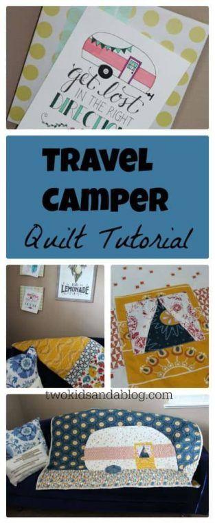Happy Camper Pot Holders Are Super Cute | Kitchen | Pinterest