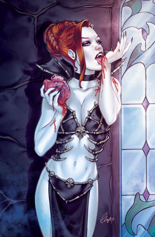 Gothic vampire sex