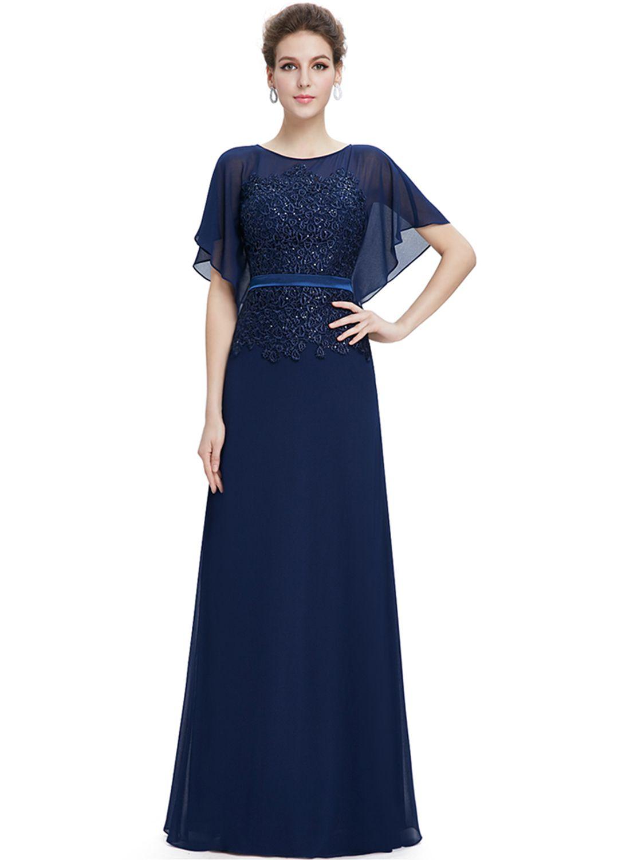 3452bc0e01 Elegant Lace Patchwork Maxi Evening Prom Wedding Dress - OASAP.com ...