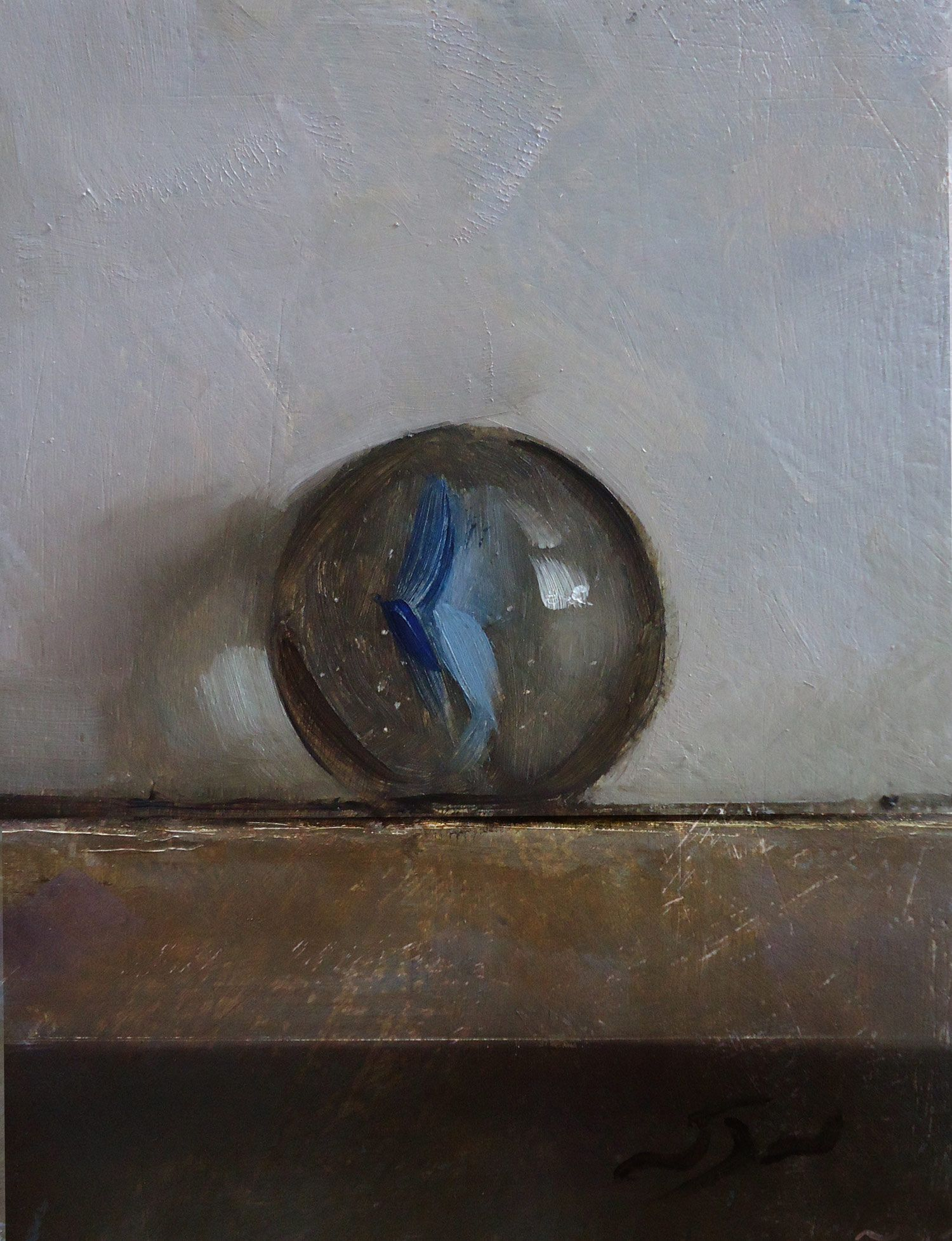 Blue Marble Oil On Panel Neil Nelson Painting Still Life Painting Still Life Painting