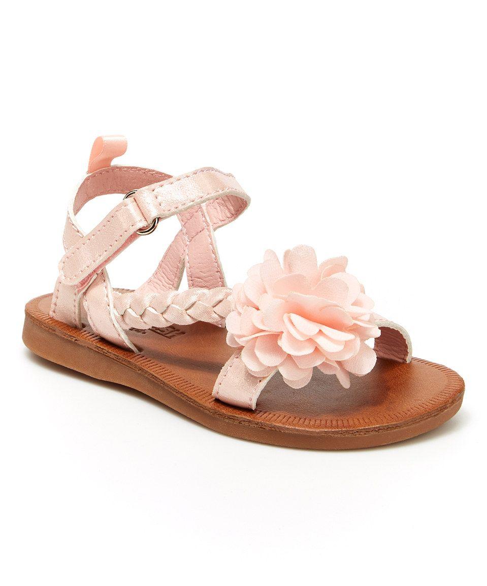 Love this Pink Anna Sandal by OshKosh B'gosh on #zulily! #zulilyfinds