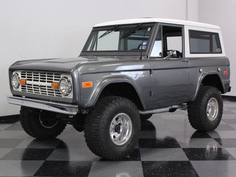 1970 Ford Bronco In Liquid Platinum Ford Bronco Classic Trucks