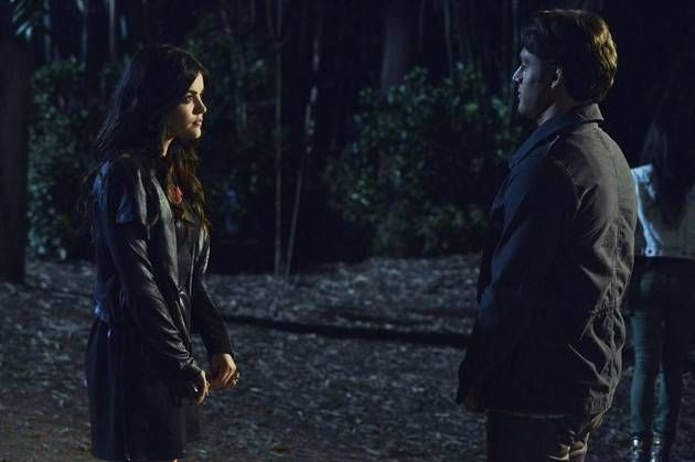 Pretty Little Liars Season 4, Episode 9: Aria and Jake ...