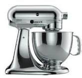 kitchen aid metallic mixer