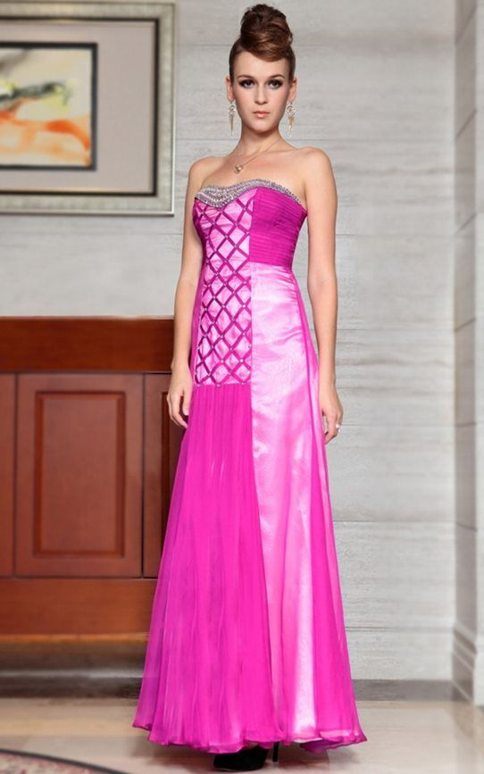 Bold Hot Pink Ball Gown From The Formal Shop Theformalshop