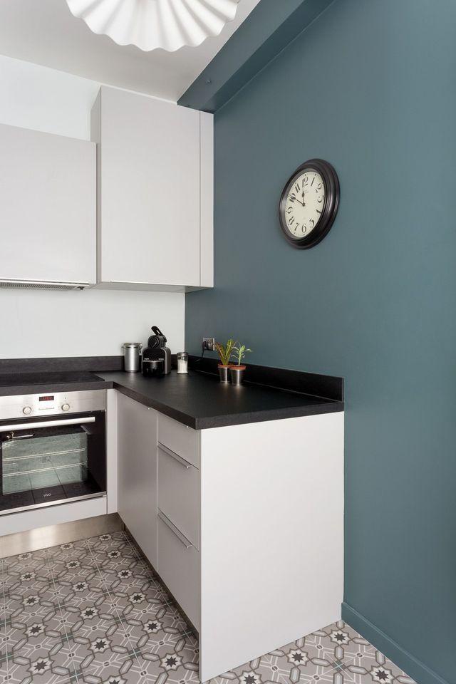 Appartement Paris 12  90 m2 du0027élégance british Inchyra blue