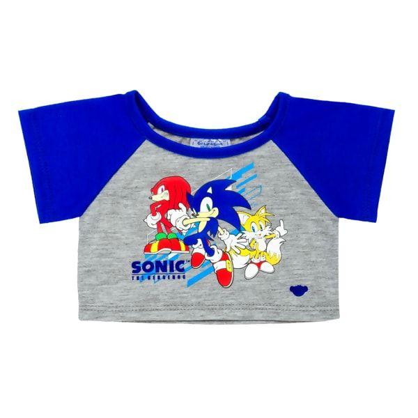 Build-A-Bear Sonic the Hedgehog SLEEPER One-Piece PAJAMAS
