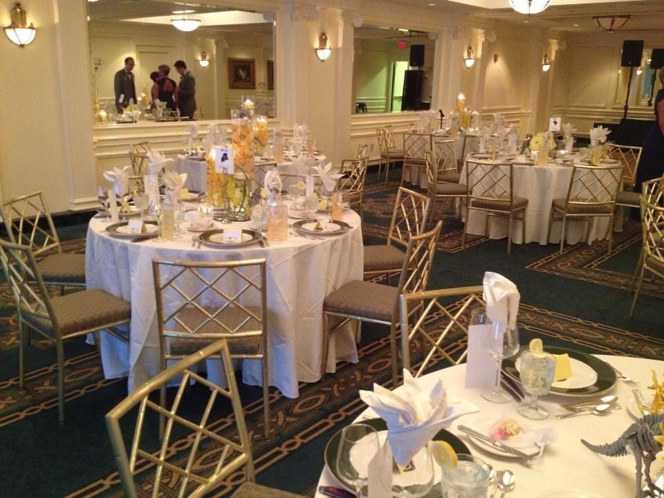 Phoenix Park Hotel Ballroom Washington Dc Table Setting For