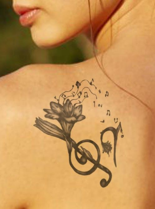 Music Symbol Tattoos Music Symbols Tattoo Designs Body Art