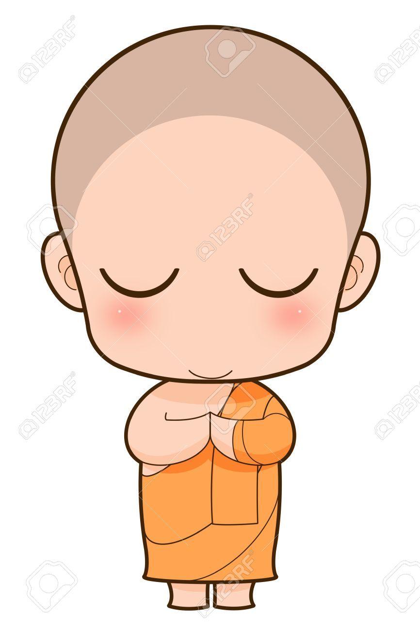 16137350-Buddhist-Monk-cartoon-Stock-Photo-meditation.jpg ...