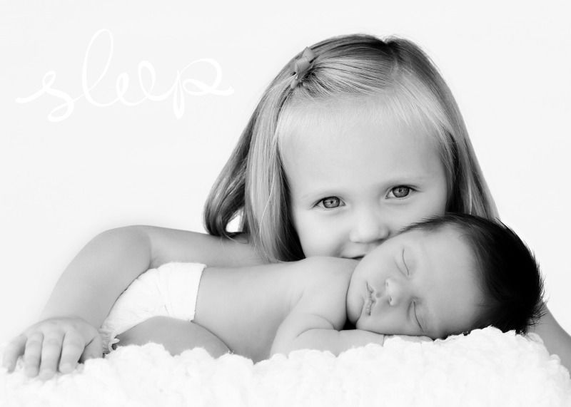 Newborn sibling pose this would be so cute with aubrey and mya