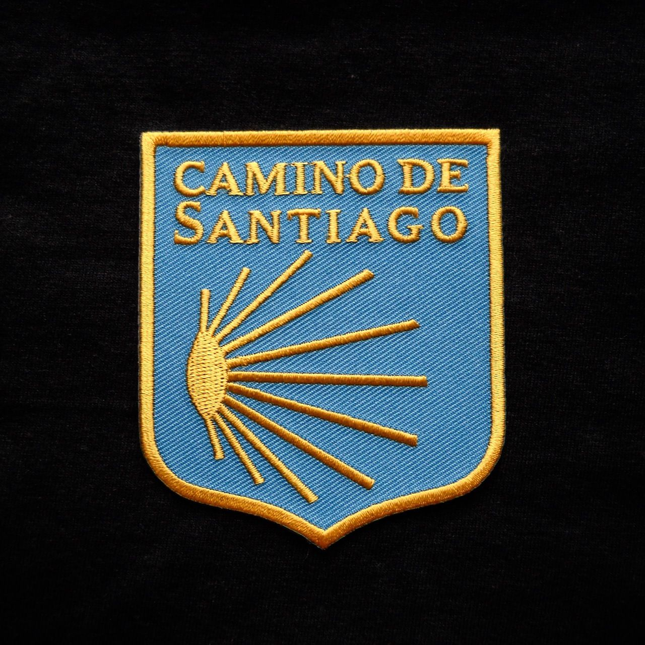 Camino de santiago pilgrim scallop shell patch scallop shells camino de santiago pilgrim scallop shell patch biocorpaavc Image collections